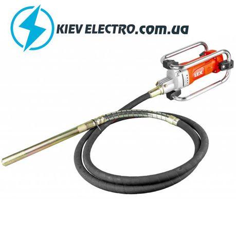 Глубинный вибратор для бетона LEX LXCV23-4M 2300 Вт Гибкий вал 4м