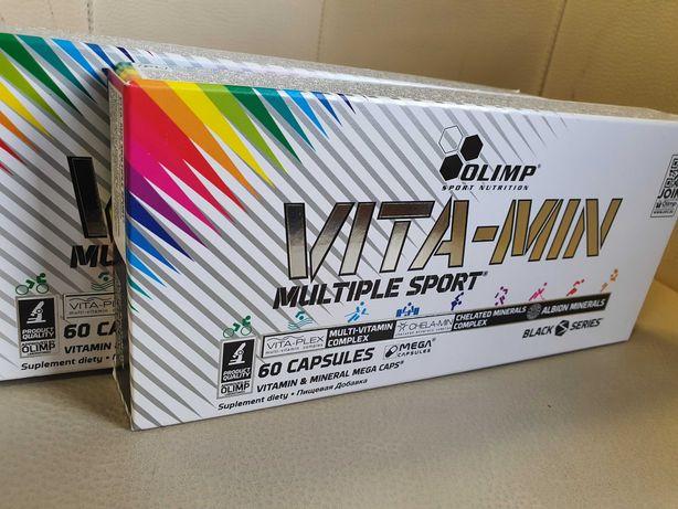 2x Vita-Min MULTIPLE SPORT Olimp 2x60 kapsułek witaminy minerały