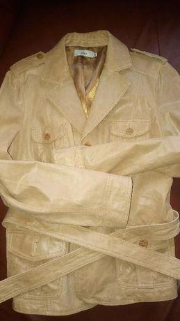 Skórzana kurtka w idealnym stanie