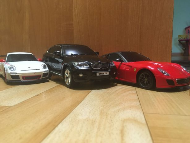 Autka Zdalnie sterowane rc Porsche Ferrari BMW