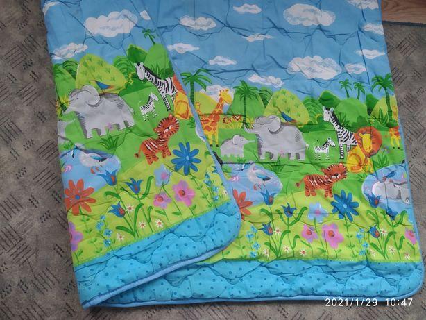 Яркое детское одеяло