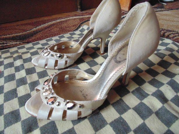 buty imprezowe z kamieniami