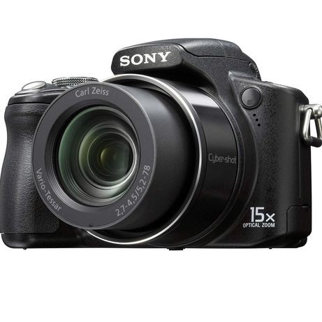 Sony Cyber Shot DSC-H50 Câmera + mala