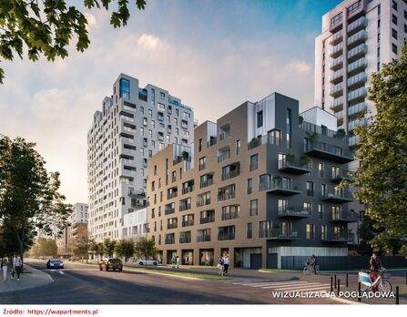 Nowoczesne M3 w centrum Warszawy - W Apartments - prestiżowe - 2021 r.
