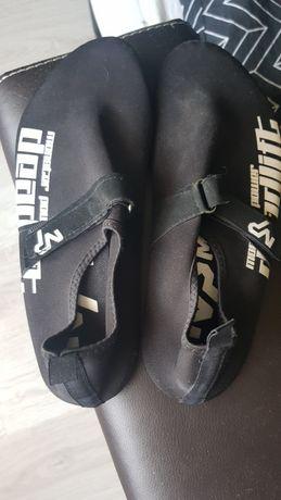Czarne buty do martwego ciągu Monster Power XL