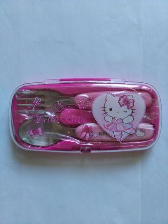 Sanrio Hello Kitty ложка и вилка набор
