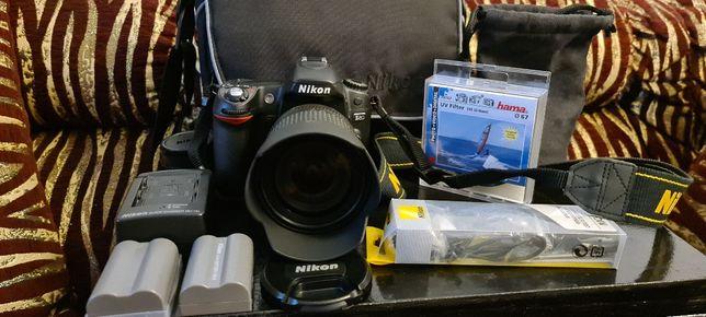 Aparat fotograficzny Nikon D80 + lampa SB 800