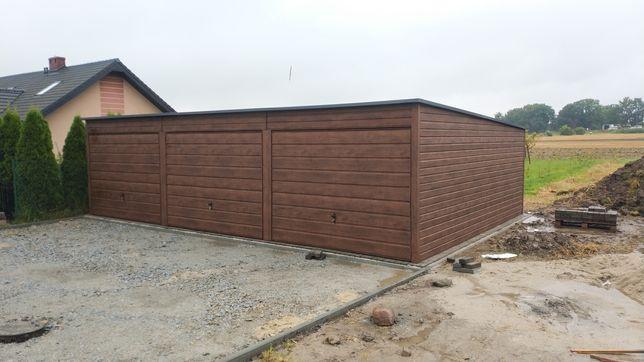 Garaż drewnopodobny 9x6 inne