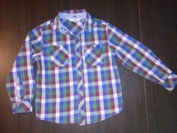 Продам крутую рубашку фирмы John Lewis на мальчика 4 года, ростом 104