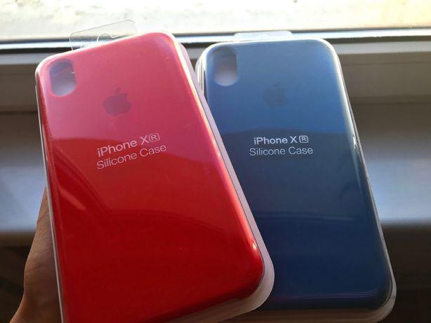 Etui dla iPhone XR - silikonowy z logo, nieużywane