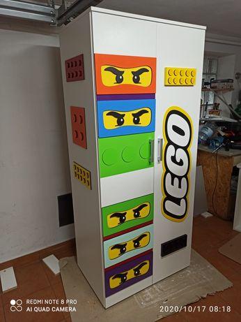 Szafa dla dziecka Lego