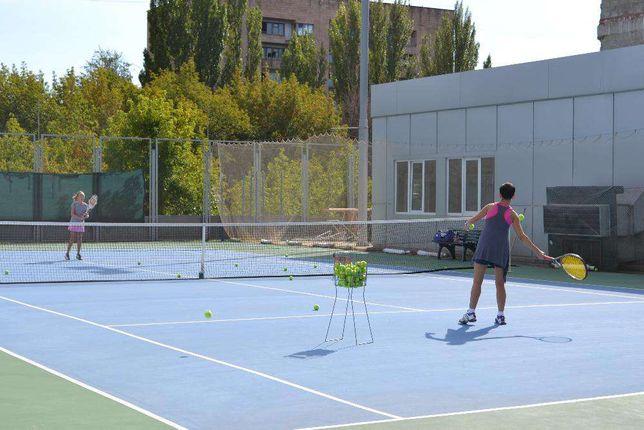 Уроки ТЕННИСА для всей семьи.Тренер по теннису