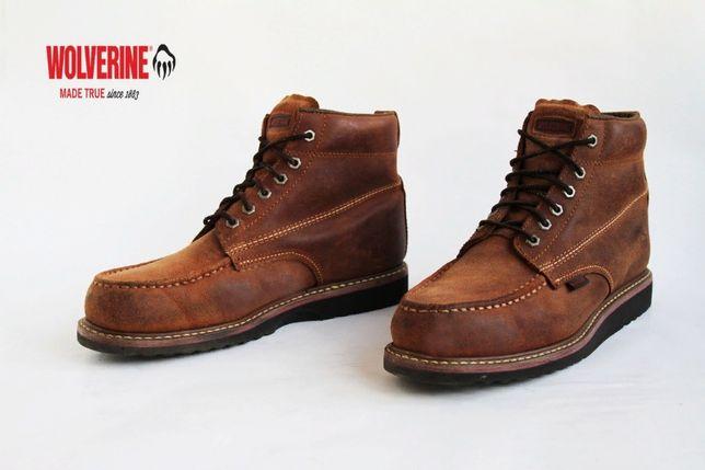 кожаные зимние теплые ботинки Wolverine 1883 . Ecco, Geox, Lowa