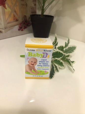 Витамин D3 для детей в каплях