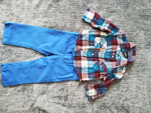 Koszula chłopięca bawelniana 62