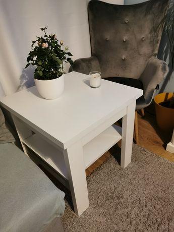 Stolik kawowy, stół 60x60 biały, ława
