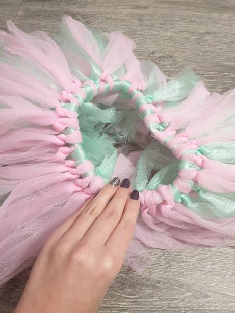 Пышная юбка с фатина для танцев