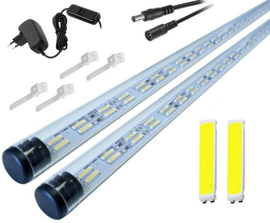 Świetlówka LED lampa akwarium 8520 2x50cm SLIM I+I
