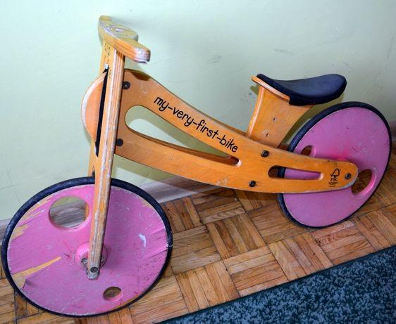 rowerek biegowy retro