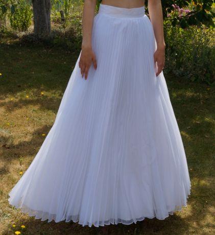spódnica ślubna