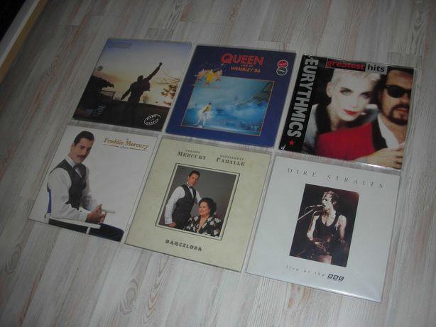 płyty winylowe,queen,dire straits,eurythmics,freddie