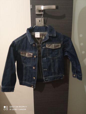 Kurtka jeansowa r 104