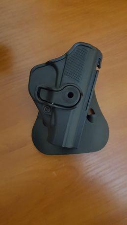 Полимерная кобура Plastic Holster Makarov PM с понижающей платформой и
