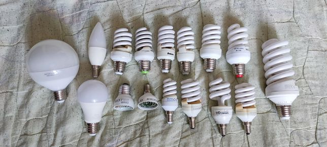 Лампы энергосберегающие (на запчасти)