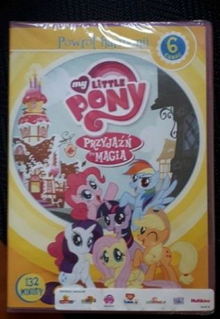My Little Pony część 6 przyjaźń to magia kucyki pony dvd bajka nowe