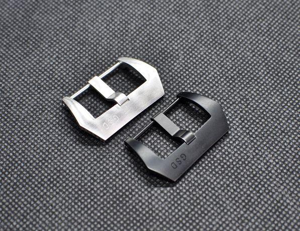 Бакля пряжка для часов 24 мм Greg Stevens Design