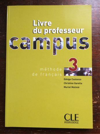 Livre du professeur Campus 3 Methode de français Книга преподователя