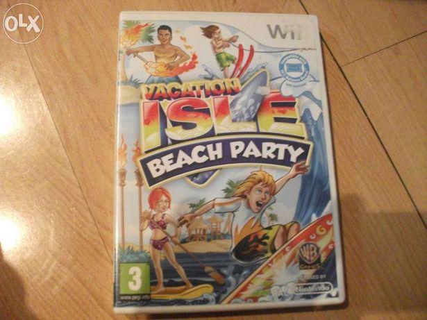 Jogo wii isle beach party