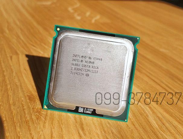 Intel Xeon E5440 E0 SLBBJ, аналог Q9550 4 Ядра, socket 775 E5430 E5420