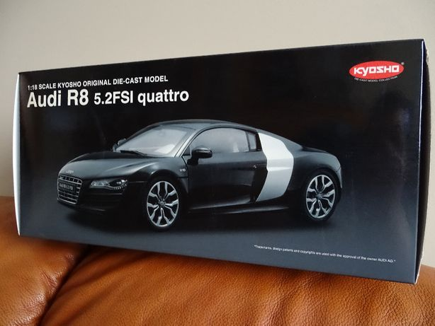 1:18 Audi r8 kyosho