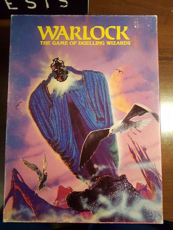 Warlock: The Game Of Duelling Wizards, Games Workshop 1980r
