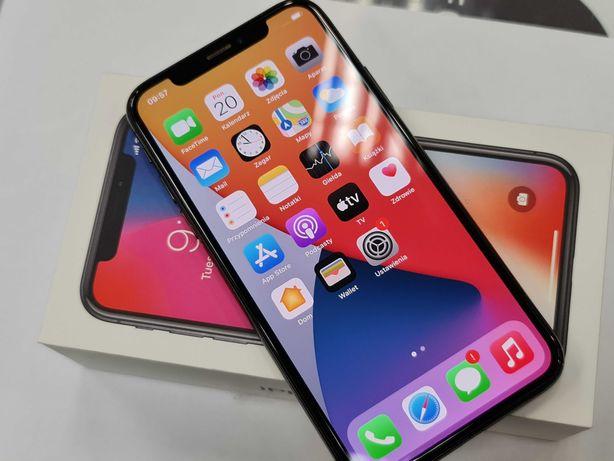 Iphone X 64GB/ Space Gray/ 100% sprawny/ Gwarancja/ Bateria 83%
