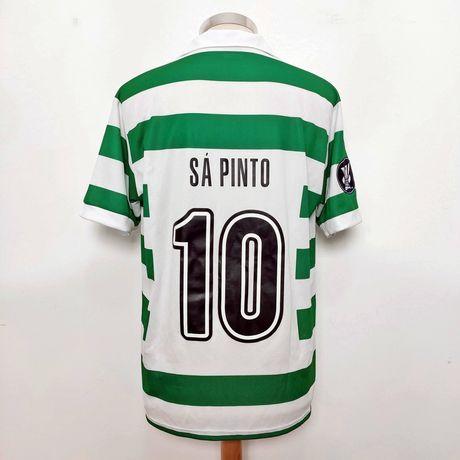 Camisola UEFA Sporting 2005/05 Ricardo Sá Pinto