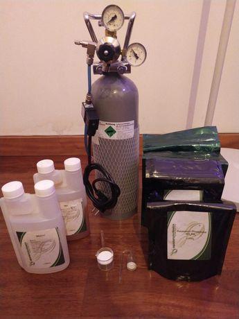 Botija garrafa 2kg CO2 dióxido de carbono aquário