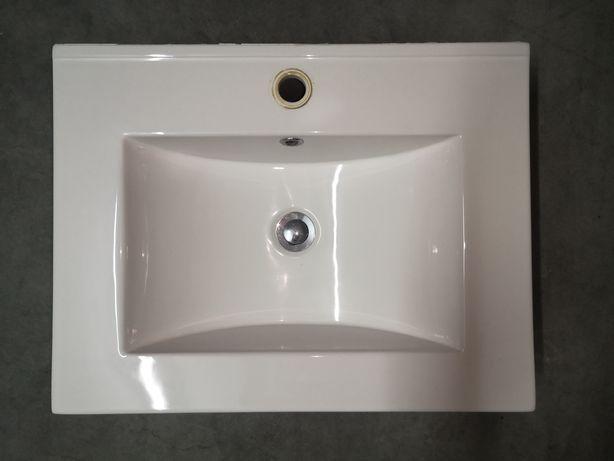 Lavatório moderno para aplicar sobre armário suspenso