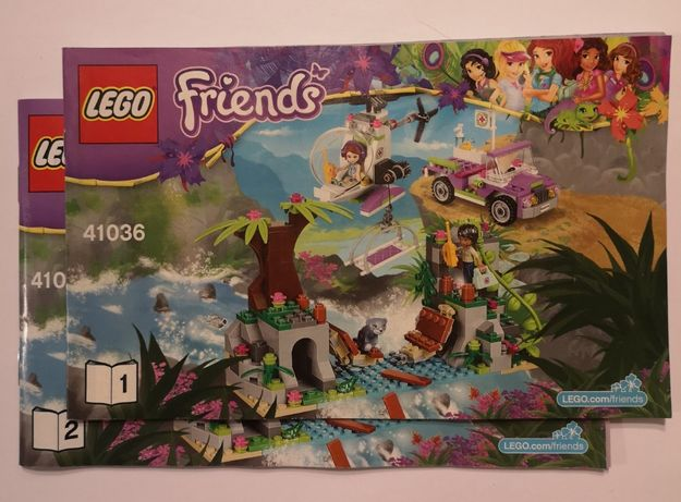 LEGO Friends 41036 - Ratunek niedźwiadka