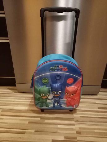 Plecak na kółkach walizka