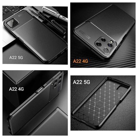 Capa T/ Fibra Carbono Samsung A22 4G / A22 5G / A52 - Nova-24h