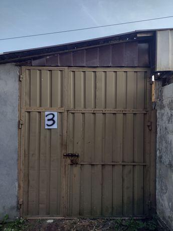 Brama garażowa z demontażu