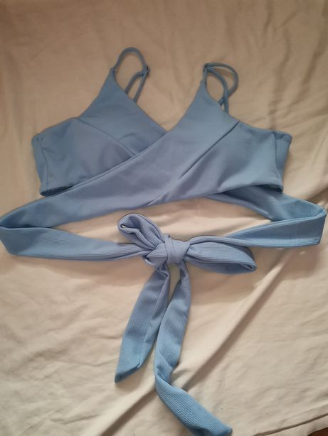 Sutiã de bikini azul claro shein XXL