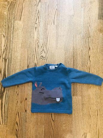 Свитер  детский кофта детская джемпер Zara, размер 2-3 года, 98 см