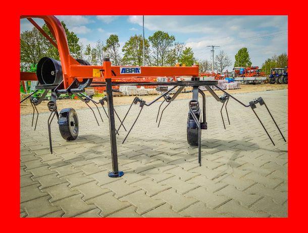 Raty! Dwa wirniki pająk przetrząsacz karuzelowy do siana dostawa HIT