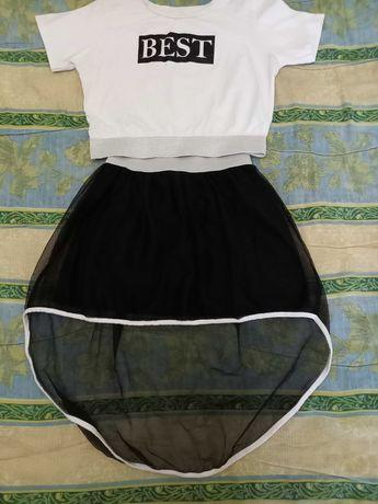 Прикольный костюмчик для девочки
