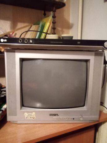 Телевизор + DVD комплект