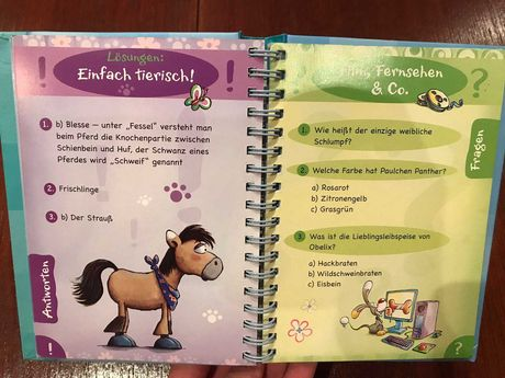 Книга німецькою мовою Ratsel-Rate-Quiz ( на немецком )