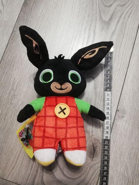 Nowa maskotka Bing króliczek z guziczkiem